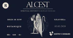 Alcest w/ Kaelan Mikla - Birds in Row • Botanique