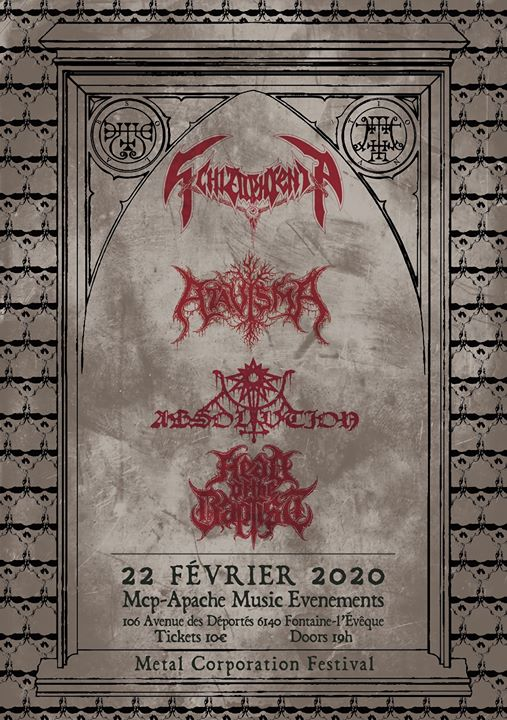 Schizophrenia/Absolvtion/Hexekration Rites/Head of the Baptist
