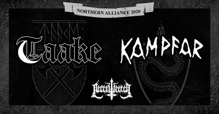 MCLX presents Taake & Kampfar + Necrowretch