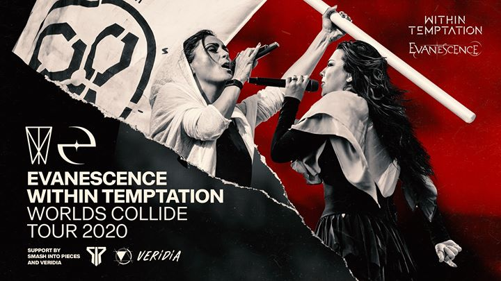 New Date ! - Within Temptation & Evanescence   Palais 12