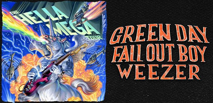 The Hella Mega Tour: Green Day, Fall Out Boy and Weezer