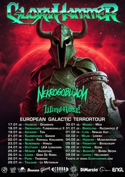 GloryHammer Tour