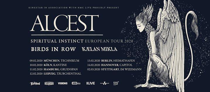 Alcest - Köln, Kantine