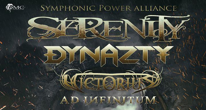 Serenity,Dynazty,Victorius,Ad Infinitum at De Klinker Aarschot