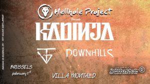 Kadinja/ Through The Void (EP Release)/ Downhills at De Schakel