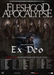 Fleshgod Apocalypse + Ex Deo at Trax, Roeselare