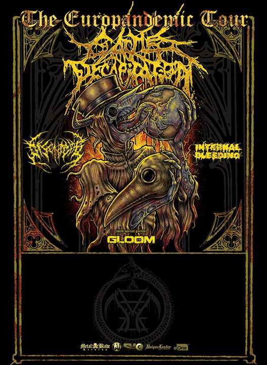 MCLX presents Cattle Decapitation, Disentomb & more
