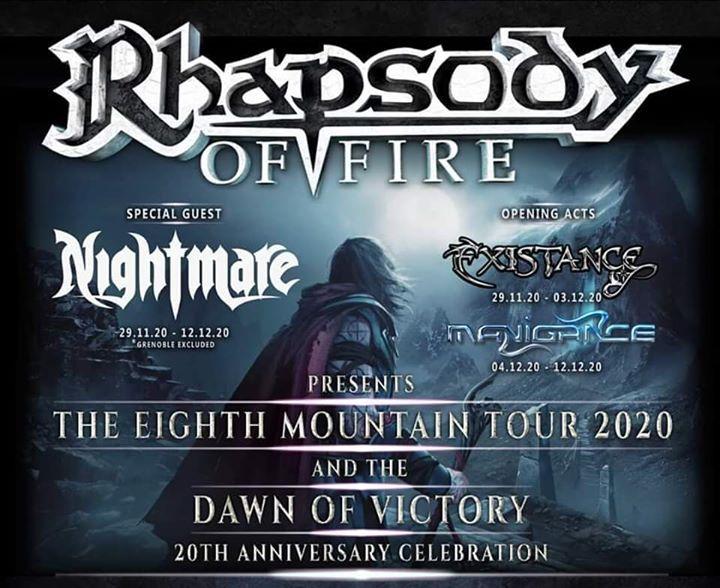 Rhapsody Of Fire - Nightmare - Existance