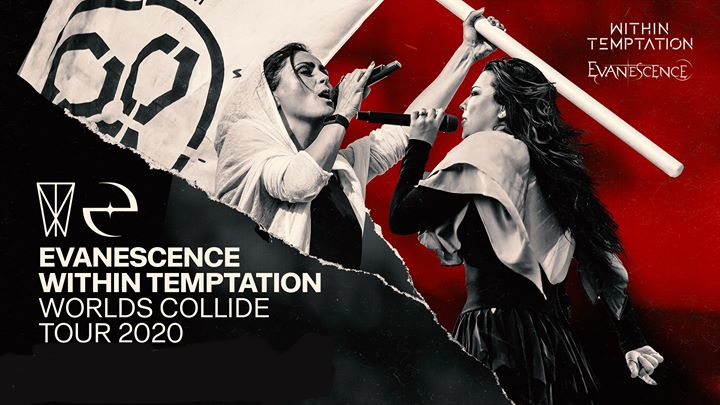 New Date ! - Evanescence & Within Temptation | Palais 12