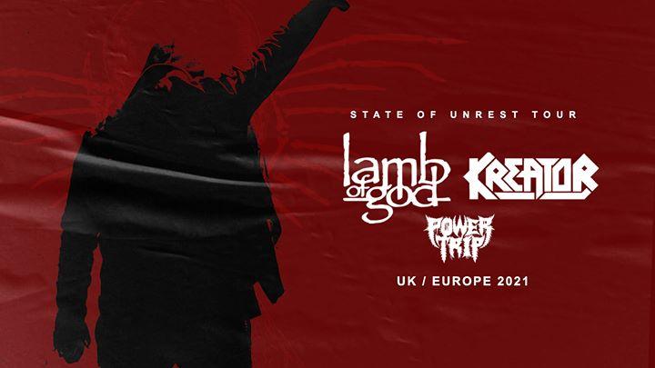 Lamb of God | Kreator - Ancienne Belgique